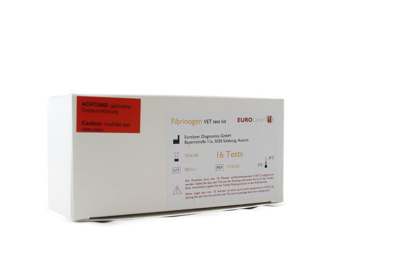 Solo Fibrinogen Test Kit