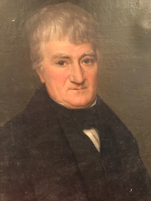 A Victorian portrait painting of a fine gentleman