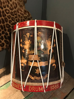 An Antique Copy of Sir Francis Drake's Famous Snare Drum
