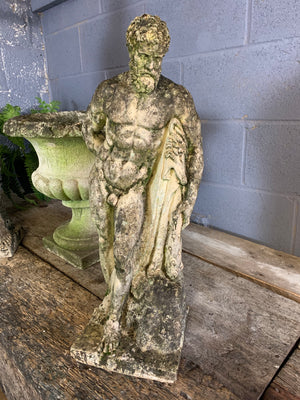 A weathered garden statue of Hercules - No. 2