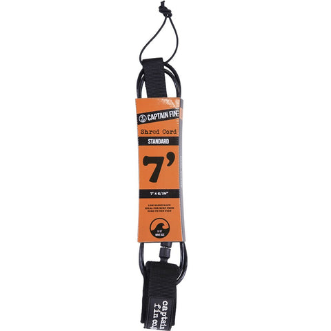7ft Standard Leash - Black