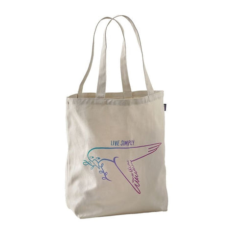 Live Simply Dove Canvas Bag
