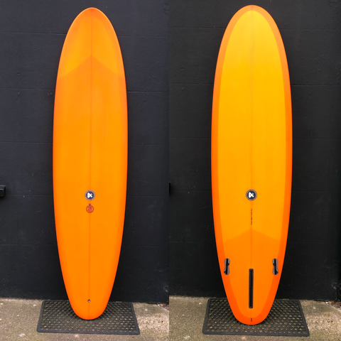 "Time Piece 7'2"" - Orange Resin Tint"