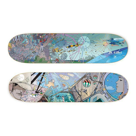 "x Moebius ""Major Fresque"" JP Gillet Deck - 8.1"""