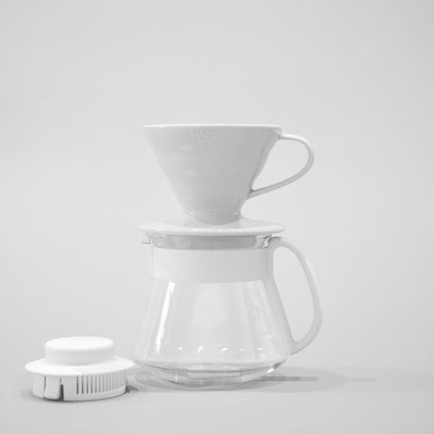 V60 Ceramic Dripper and Pot