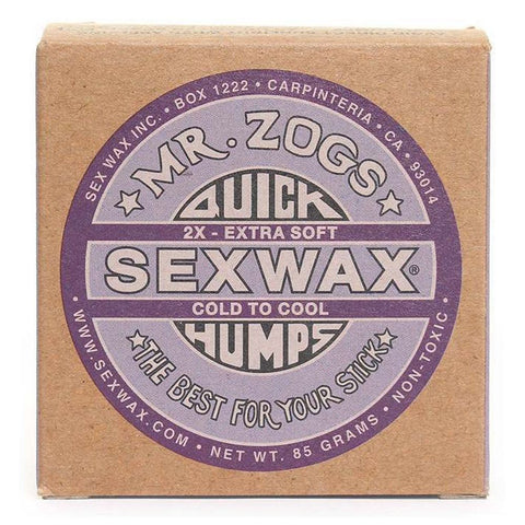 Sex Wax Quick Humps - 2x Cold to Cool
