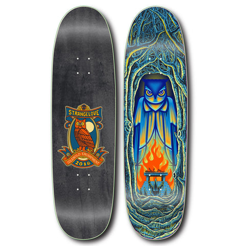 "Sean Cliver x Don Pendleton ""Bohemian Grove"" - 9.25"" Screen Printed"