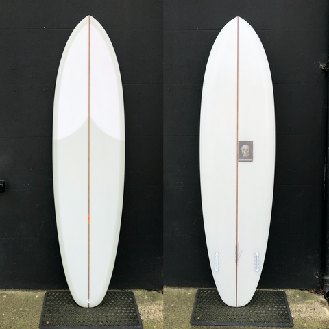 "Twin Tracker 2.0 - 7'2"" Full Cut Lap Volan"