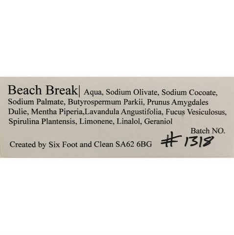 Beach Break Soap Bar