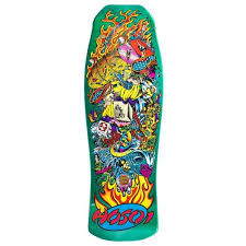 "Hosoi ""Collage"" Candy Metallic Green 10"""
