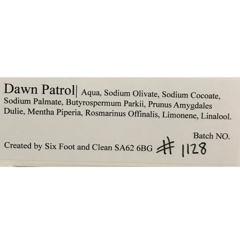 Dawn Patrol Soap Bar