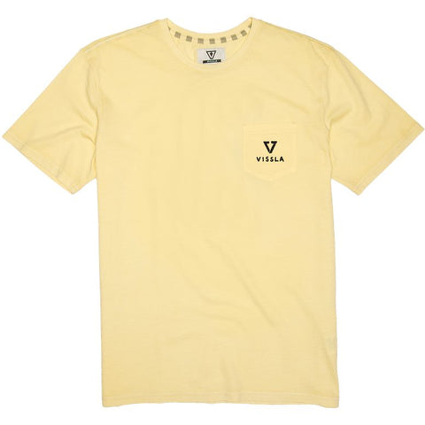 """Golden Tooth"" Pocket T-Shirt - Yellow"