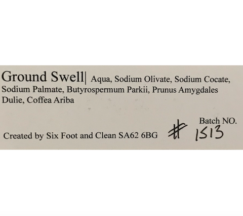 Ground Swell Coffee Scrub