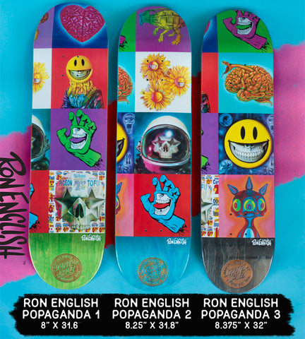 "SC x Ron English ""Popaganda"" - Set of 3"