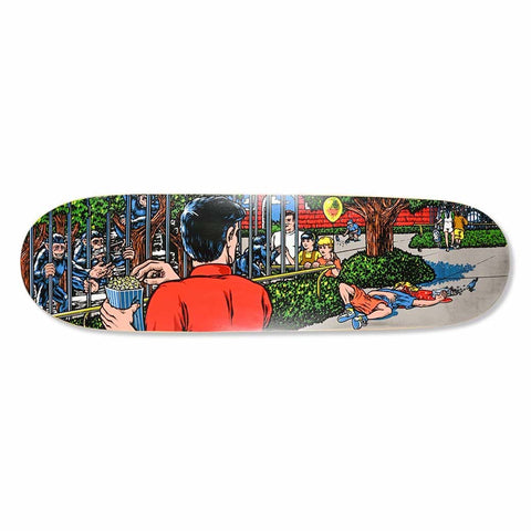 "Eric Koston ""Zoo"" - Screen Print Deck 8.78"""