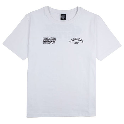 Mix Up Tee - White