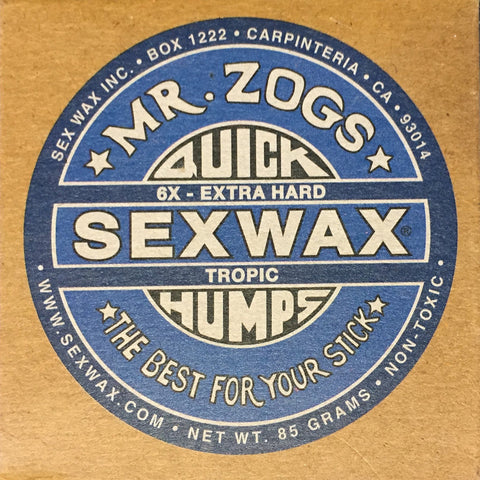Sex Wax Quick Humps - 6x Tropic/Basecoat