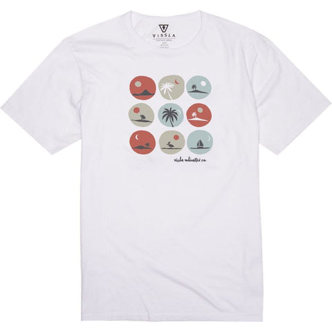 """Radicals"" Vintage Wash T-Shirt - White"