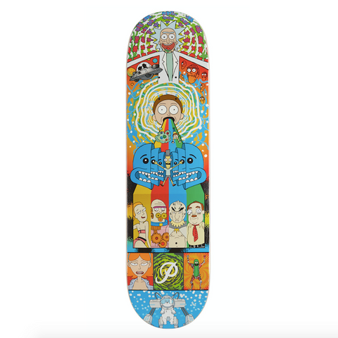 "Rick and Morty ""Collage"" 8.0"" Deck"