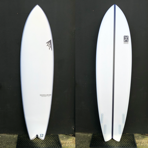 "Rob Machado ""Seaside and Beyond"" 7'4"" Futures - LFT"