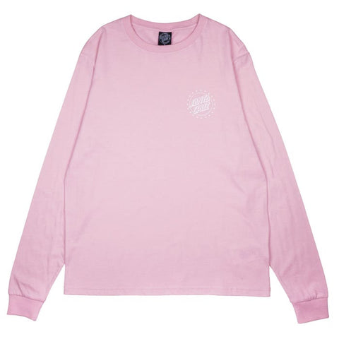 Spangle Long Sleeve T-Shirt - Dusty Rose