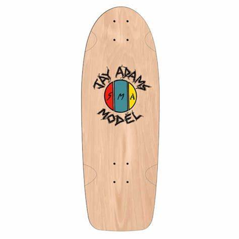 "Jay Adams ""First Deck"" 10.75"" - Natural"