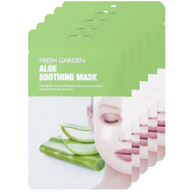 FRECIPE ALOE SOOTHING MASK (10 COUNT)