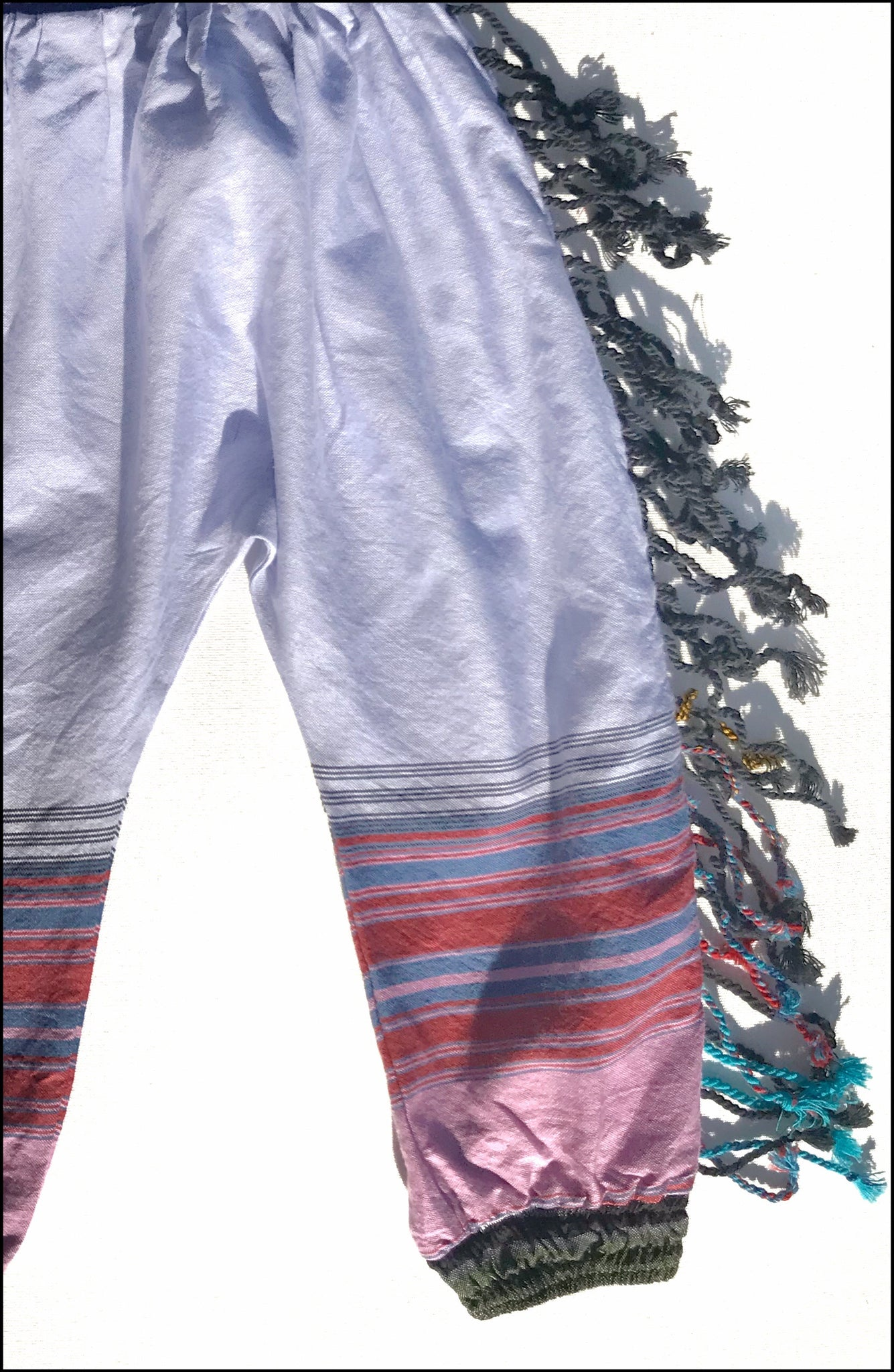 Kids fringe pants