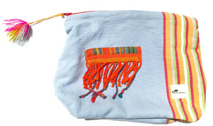 Tassle zipper bag