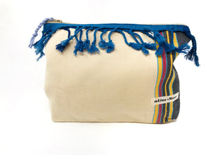 Kikoy zipper bag