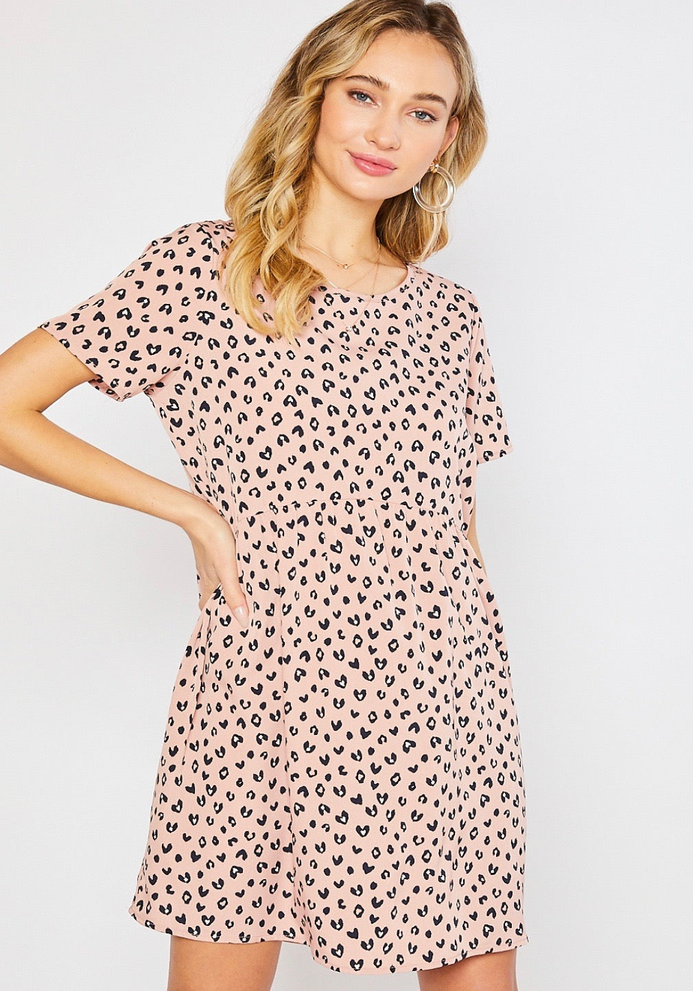 Cheetah Heart Dress
