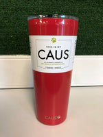 CAUS 24oz Tumbler Red
