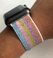 Shimmer Stretch Watch Band