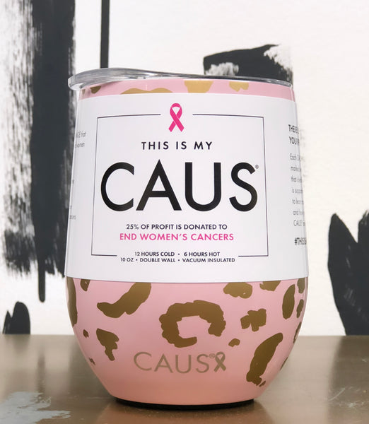 CAUS Small Drink Blush Leo (Breast Cancer)