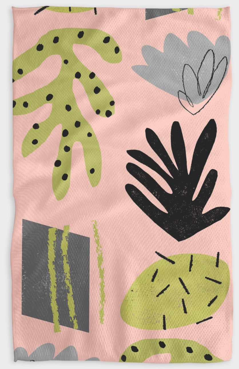 Designer Kitchen Towel-Seaweed