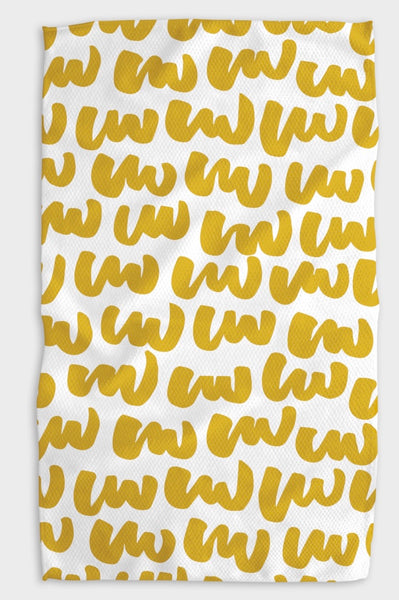 Designer Kitchen Towel-Learning to Write