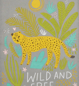Wild and Free Kitchen Towel