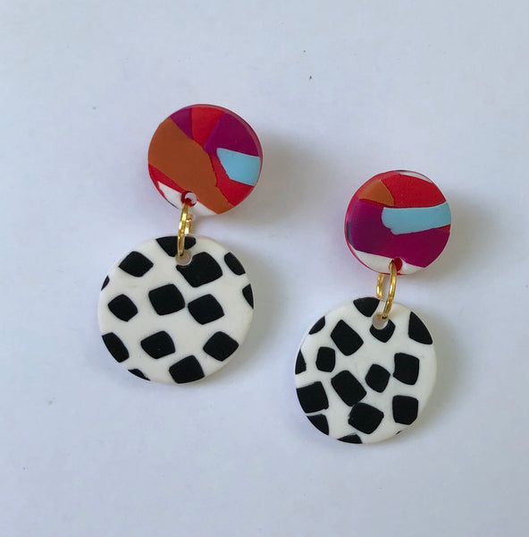 Cruella mini earrings (h)