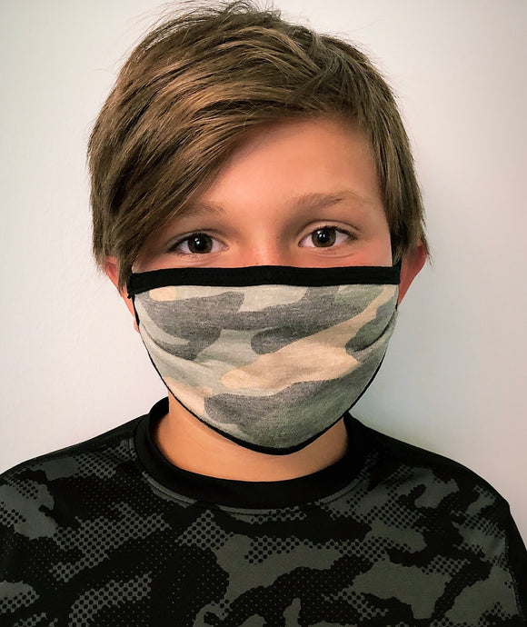 Camo CHILDREN'S Mask