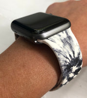 Tie Dye Silicone Watch Band