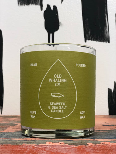 Old Whaling Company Candle