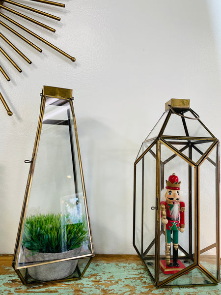 Vintage Brass Lanterns