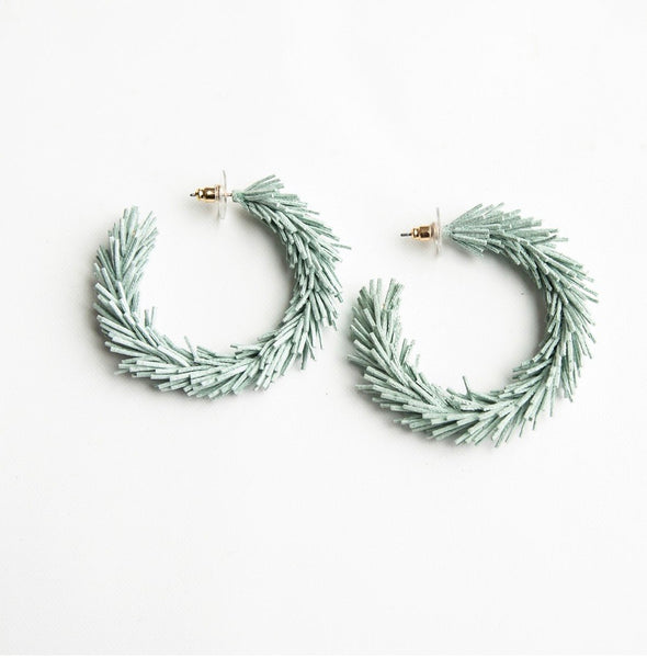 Kennedy Mint Hoops