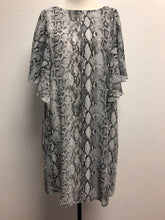 Grey/Black Snake Dress-final Sale
