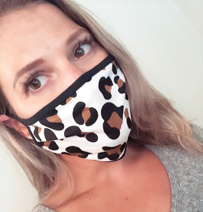 Cheetah ADULT Mask