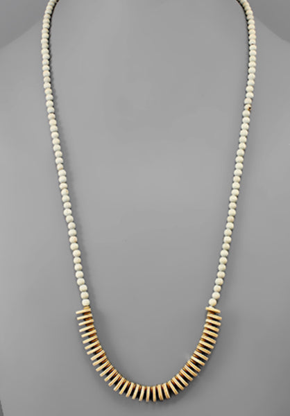 Raleigh Necklace | Gray