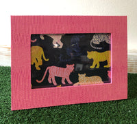 Pink Lizard Photo Frame