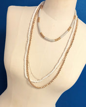 Simple Multi Layered Long Necklace