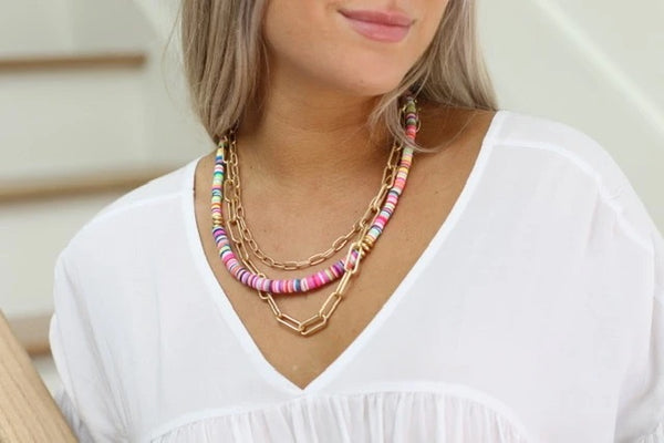 Candy Sunset Necklace