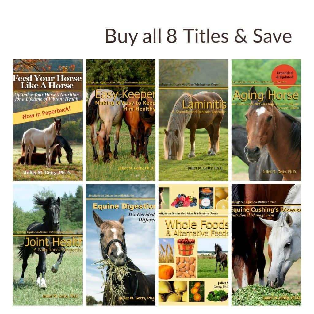 Order all Dr. Getty's 8 Books & Save $28